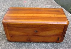 Does anyone remember these?? I never got one, but I still have one (from my older sister, I think) LANE MINI CEDAR CHEST; little boxes given out by the thousand by furniture companies across the country to high school girls. Many were handed out during the 1950s and 1960s to girls at graduation, with the hope that they would be inspired to buy the larger size, which cost hundreds of dollars.