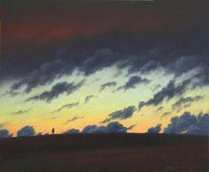 British Artist Steven OUTRAM-The Walk Before Dark
