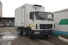 МАЗ представил мультитемпературный фургон