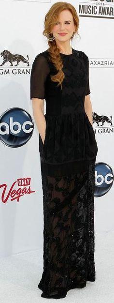 Nicole Kidman in Dries van Noten Fall 2011 at the 2011 Billboard Awards, May 2011