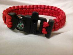 Paracord rope bracelet