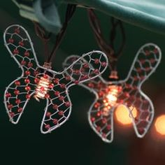 Beaded Wire Butterfly Party String Lights - Animal String Light Strands & Sets - Oogalights.com - More Than 1,000 Party & String Light Bulbs! $16.95