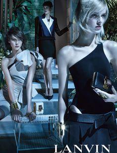 Daria Strokous, Karlie Kloss & Saskia de Brauw for Lanvin Spring Summer 2013