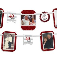 We Still Do 40th Wedding Anniversary Photo by BigDotOfHappiness