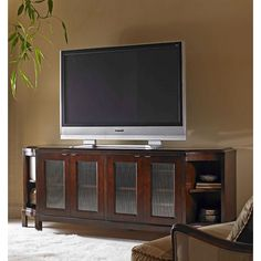Century E39-403 Century  Configurable Glass Door Entertainment Credenza available at Hickory Park Furniture Galleries