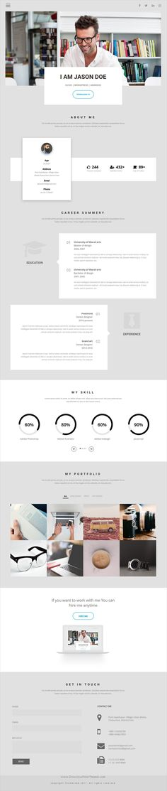 Echo is modern clean and minimal design responsive #HTML #bootstrap template for #personal #resume, CV or portfolio showcase websites download now➩ https://themeforest.net/item/echo-personal-minimal-html-template/19420390?ref=Datasata