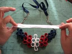 how to make a necklace with zippers. Video is in spanish but you can understand by watching Zipper Jewelry, Fabric Jewelry, Diy Jewelry, Jewelry Making, Dyi Crafts, Handmade Crafts, Diy Necklace, Crochet Necklace, Necklaces