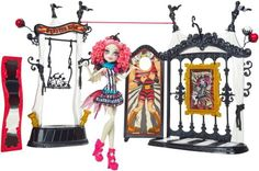 Monster High Dolls Accessories - circus