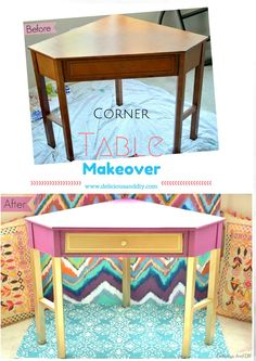 Corner Table Makeove