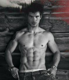 Taylor lautner. Body. Hot. Sixpack.
