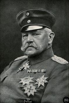 Paul von Hindenburg, deutscher Militär und Politiker   by Ireck Litzbarski Collection