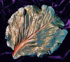 Concrete Cabbage Leaf Casting