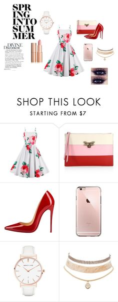 """""""Summer"""" by nikus10030 on Polyvore featuring Gucci, Christian Louboutin, Abbott Lyon and Charlotte Russe"""