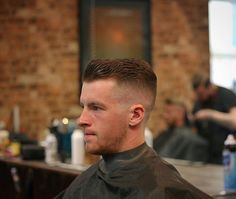 Just posting things that turn me on. Hot guys and short haircuts. High And Tight, Pompadour, Barber, That Look, Hair Cuts, My Style, Instagram, Haircuts, Banana