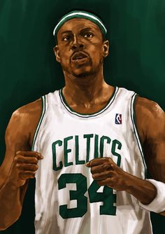 #NBA. Paul Pierce. #Boston #Celtics. #sport