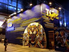 Tiger Wall @ Tiger Beer park CTW (Amazing Thai[Ger]land)