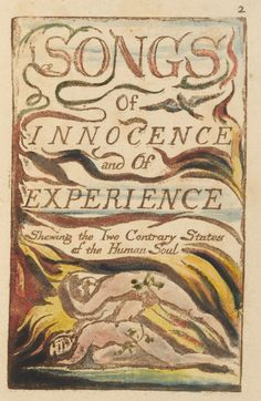 Songs of Innocence and Experience, cover illustrated by WB