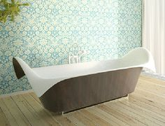 ultra modern bathtubs bagno sasso wave 1 Bathtub Collection Gathering Ocean Inspired Models from Bagno Sasso