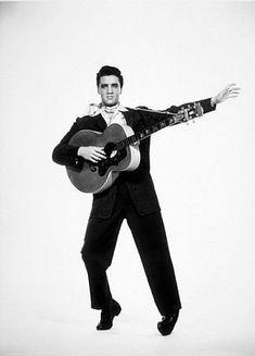 Elvis Presley, circa 1957.