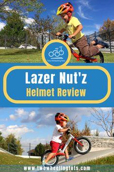 Lazer Nut'z - Two Wheeling Tots Bike Helmets, Bike Equipment, Hydration Pack, Kids Bike, Baseball Cards