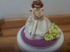 hermosa torta de Primera comunion