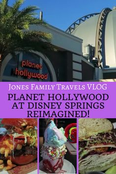 Disney Vloggers review the new Planet Hollywood at Disney Springs! #disney