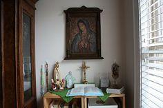 LA VIRGEN DE GUADALUPE~Home Altar