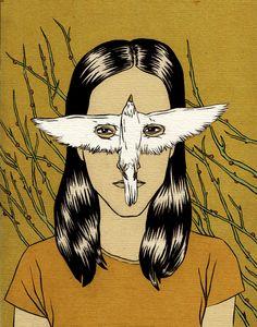 Màscara d'ocell Pau Gasol Valls