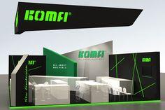 Vizualizace interiéru Komfi Design, Log Projects, Design Comics