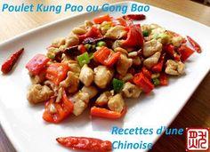 Recettes d'une Chinoise: Poulet Gong Bao 宫爆鸡丁gōng bào jī dīng
