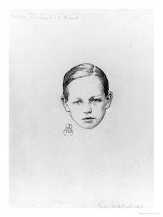 Arthur Rimbaud Aged 12, 29th April 1897, Roche reproduction procédé giclée par Paterne Berrichon sur AllPosters.fr