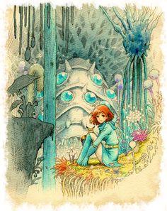"Princess Nausicaä from ""Nausicaä of the Valley of the Wind"""