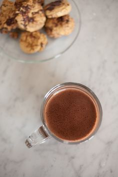 Homemade Hot Chocolate from Food Loves Writing