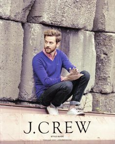 Crew Men's Style Guide February 2013 Boy Cuts, J Crew Style, Classy Men, J Crew Men, Made Clothing, Mens Style Guide, Purple Fashion, Men Street, Style Guides