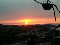 Sunset at hotel ape regina