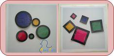 Una propuesta de juego DIY para la mesa de luz es el resultado del #retomes. Aprender formas y colores jugando.