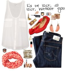 """""""I'd be lost, so lost, without you"""" by nicki-rae on Polyvore"""