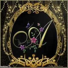 Heraldry of Life: GOLDEN FRAME with ARTISTIC ALPHABET