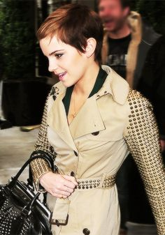 Emma, yep, I'm obsessed with short hair now.