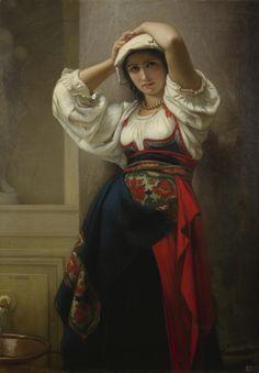Charles Zacharie Landelle (french academic painter, 1821-1908)