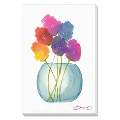 Flowers in a Jar 8- FREE Shipping!