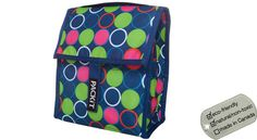 Packit Lunch Coolers - blue dots