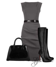 i simply love this look! serious business woman outfit.