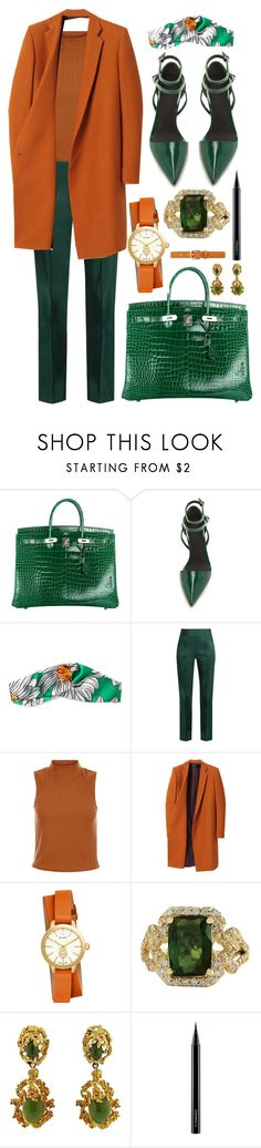 """""""pure sin"""" by johanna-dn on Polyvore featuring Hermès, Alexander Wang, Gucci, Rosie Assoulin, Haider Ackermann, Tory Burch, MAC Cosmetics and Isabel Marant"""