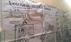 Il visual storytelling del primo evento realizzato da Marco Serra (21/lug/14)