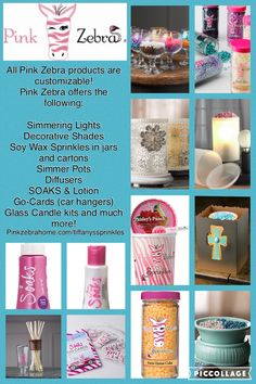 Pink Zebra sprinkles and other products.  Http://pinkzebrahome.com/tiffanyssprinkles