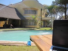 A lovely guest house in Zambia. #pool #swimming #vacation #zambia #hotel #africa