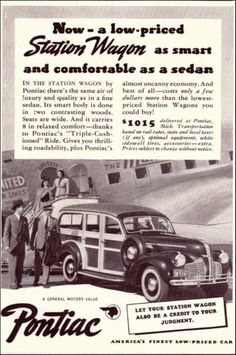 1940 Oldsmobile Station Wagon Original Vintage Print Ad Woodie Car Ad Art | eBay