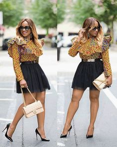 The versatility of the Ankara fabric cannot be overemphasized; one of the many things you can achieve with this beautiful fabric is the Ankara tops. We bring you variety of styles you can make using this wonder fabric. The styles here are classy and sophisticated; they can be rocked on trousers...