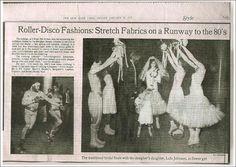 Betsey Johnson's roller disco wedding 1979